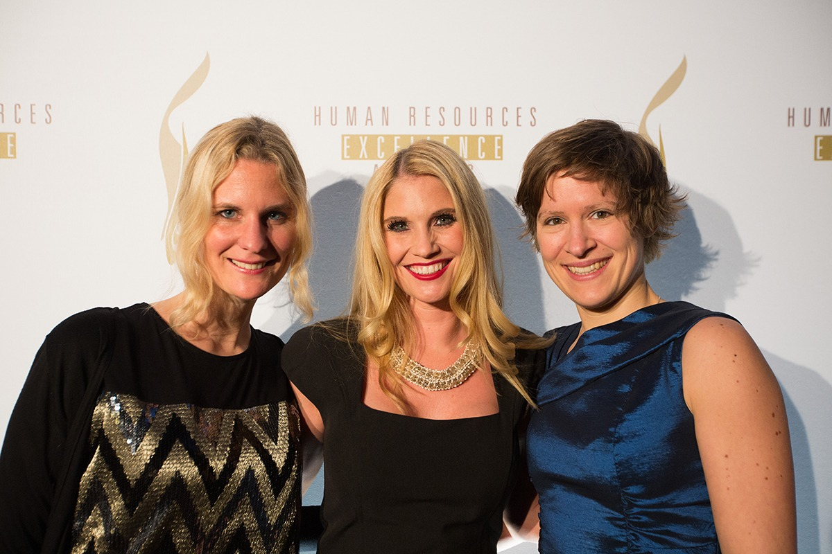 Fotowand HREA Human Resources Excellence Award 2015 Tipi