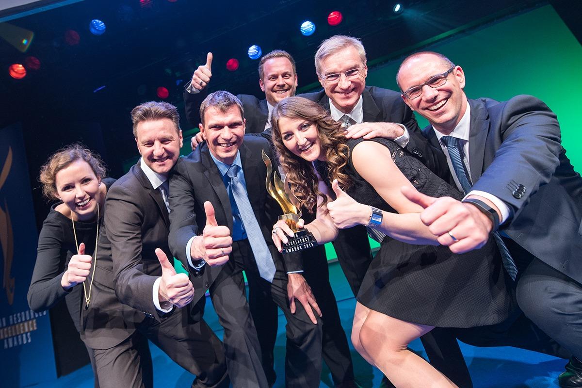 Human Ressources Excellence Awards 2015; TIPI am kanzleramt Berlin; 02.12.2015